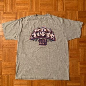 2007 Giants Super Bowl XLII Champions Tee NFL